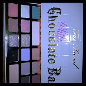 Brand new too faced white choc pallet